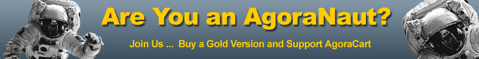 AgoraCart Gold Shopping Cart Software